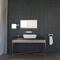 24 Inch Rounded Rectangle Solid Surface Abovecounter Basin