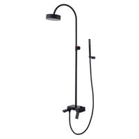 Single handle luxury shower set