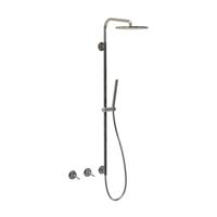 Dual-handle luxury shower set