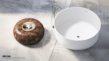 Why solid surface bathtub are more and more popular?