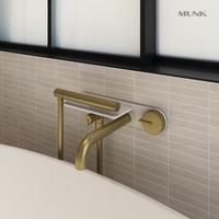 Unique Shape Wall-mount bathtub mixer