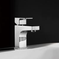 Square Single Handle Bathroom Faucet