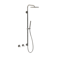 Dual-handle luxury shower set