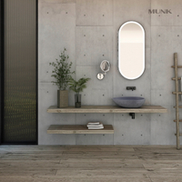 Concrete Color Retro Bathroom Wash Basin