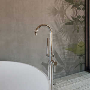 Stylish Floorstanding Bathtub Mixer