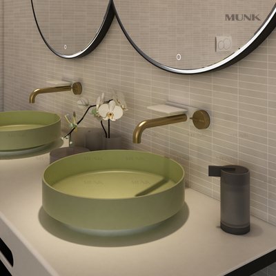 Unique Design Wall-mount basin mixer